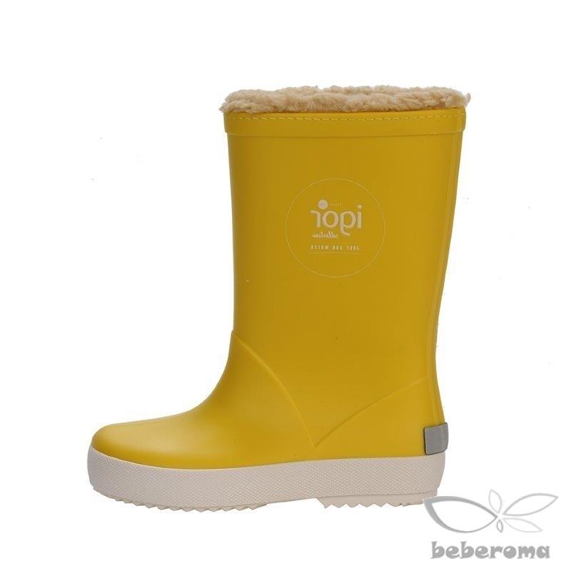 - Igor İçi Tüylü Sarı Çizme - W10207-008 2