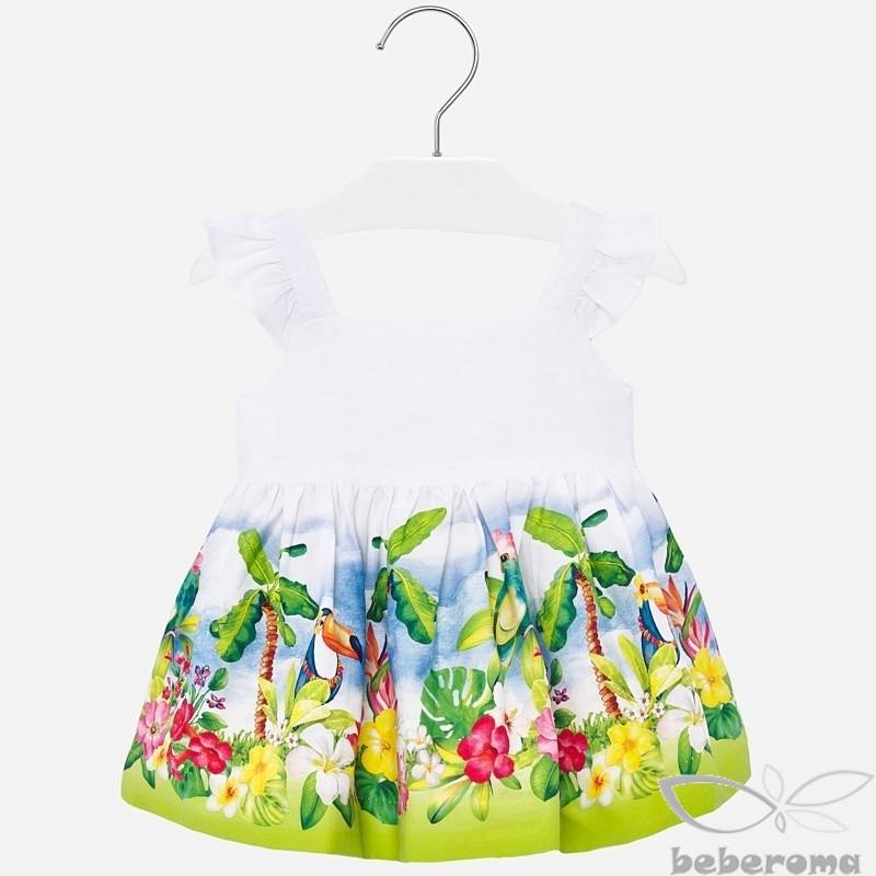 - Mayoral Çiçekli Askılı Elbise - 1942 1