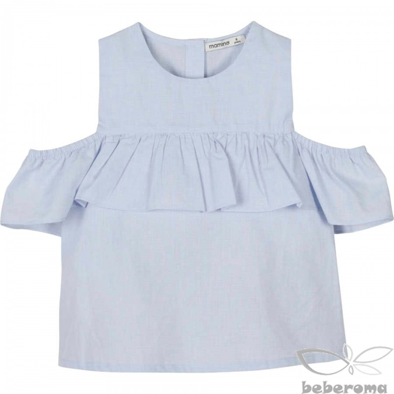 - 11710 Düşük Kol Detaylı Bluz 1
