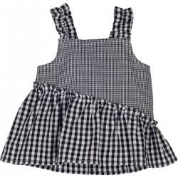 - 13458 PitiKareli Kız Çocuk Askılı Bluz 1