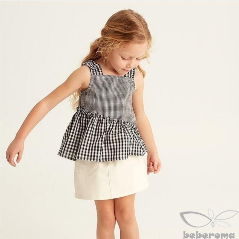 - PötiKareli Kız Çocuk Askılı Bluz 13458 3