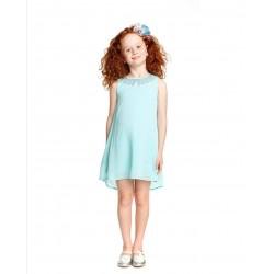 - Kız Çocuk Şifon Elbise 816-7790 1
