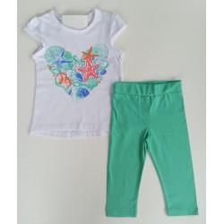 - Kız Çocuk Yeşil Tayt Takım 3000-014 1