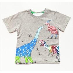 - Erkek Bebek Safari Tişört 3051-006 1