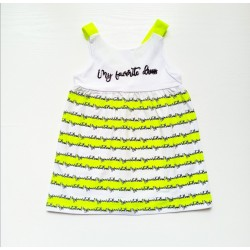 Kız Bebek Askılı Elbise...