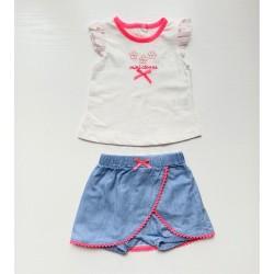 Kız Bebek Şort Tişört Takım...