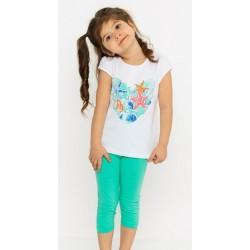 - Kız Çocuk Yeşil Tayt Takım 3000-014 2