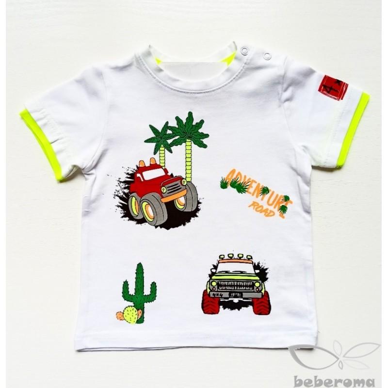 - Erkek Bebek Arabalı Tişört 3051-023 1
