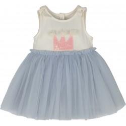 Kız Tütülü Bebek Elbisesi-...