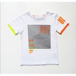 - Erkek Çocuk Beyaz Tişört 6428-028 1