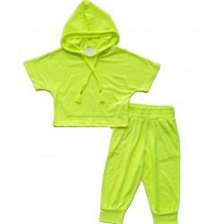 - Kız Çocuk Takım Neon Yeşil 2104 1