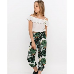 - Kız Çocuk Pantolonlu Takım 3000-052 2