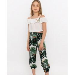 - Kız Çocuk Pantolonlu Takım 3000-052 3