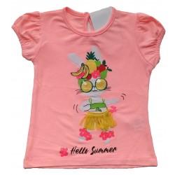 - Kız Bebek Tişört -3001-002 1