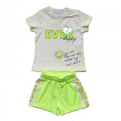 - Kız Çocuk Neon Şort Takım 3000-081 1