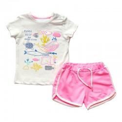 - Kız Bebek Şort Takım 3000-011 1