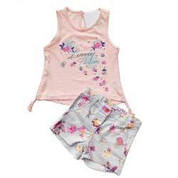 - Kız Bebek Şort Tişört Takım 2800-076 1