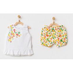 - Kız Bebek Şort Takım AC 21833 1