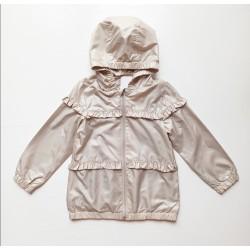 - Kız Çocuk Baharlık Bej Yağmurluk 4812 1