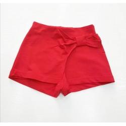 - Kız Çocuk Kırmızı Şort Etek-0445 1