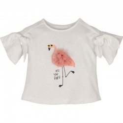 - Flamingolu Kız Çocuk Tişört 13404 1