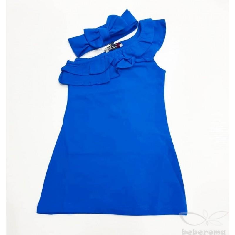 - Kız Çocuk Sax Elbise -9042 1