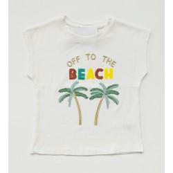 - Kız Çocuk Beyaz Tişört 3001-014 1