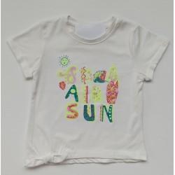 - Kız Bebek Beyaz Tişört 3001-025 1