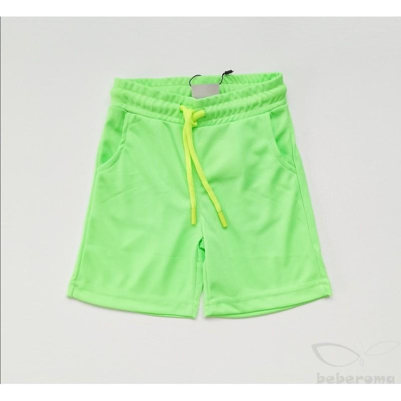 - Erkek Çocuk Neon Yeşil Şort 4071 1