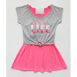 - Kız Çocuk Penye Elbise 13478 1