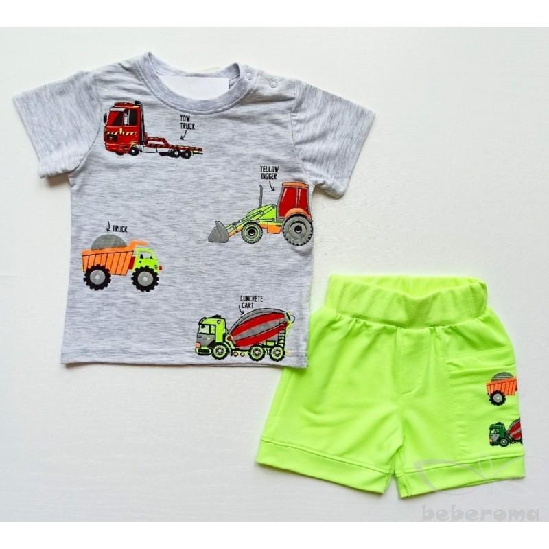 - Erkek Bebek Şort Tişört Takım 3050-019 1