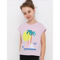 - Kız Çocuk Lila Tişört T 832 2