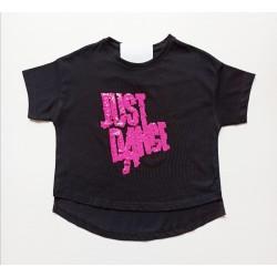 - Kız Çocuk Siyah Tişört 2057 1