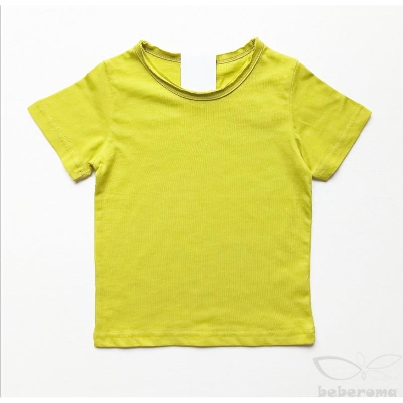 - Unisex Basic Yeşil Tişört 4068 2