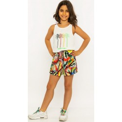 - Kız Çocuk Şort Takım 3000-048 1