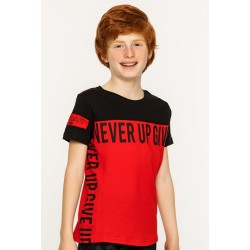 - Erkek Çocuk Kırmızı Tişört 6431-031 1