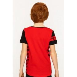- Erkek Çocuk Kırmızı Tişört 6431-031 2
