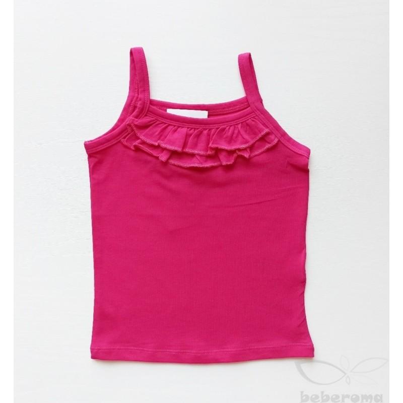 - Kız Çocuk Askılı Bluz Fuşya 0114 1