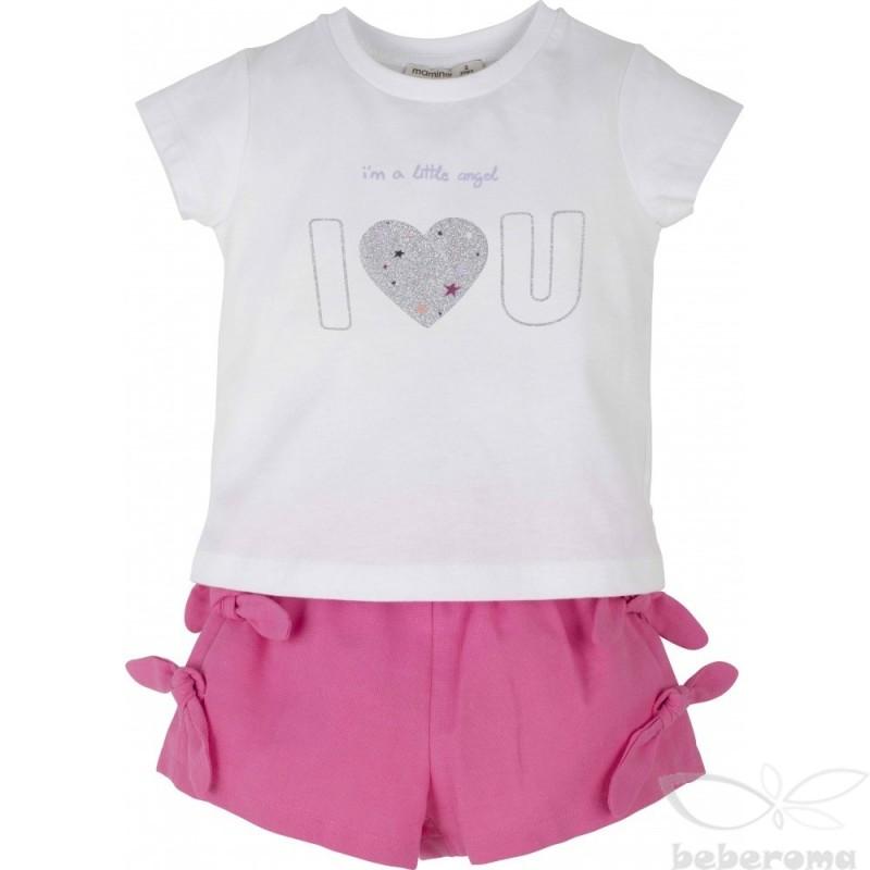 - Kız Bebek Şort Takım 14632 1
