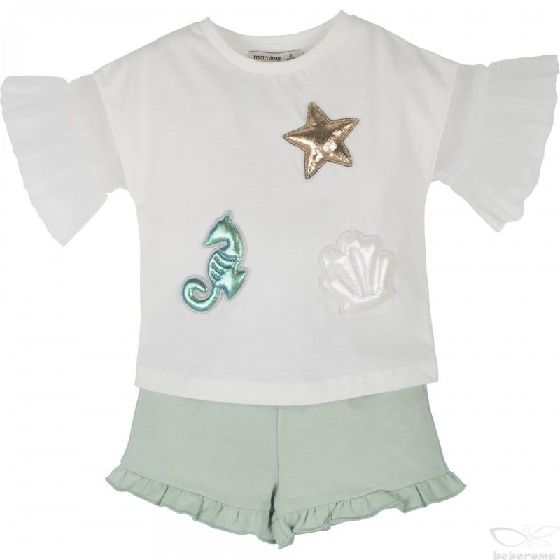 - Kız Bebek Şort Takım 14476 1