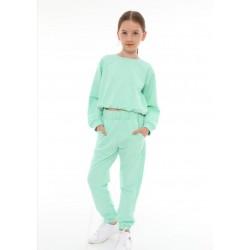 - Kız Çocuk Eşofman Takım-Mint 2062 1