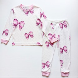 Kız Çocuk Fiyonklu Pijama...