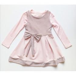 Kız Çocuk Elbise 1954 ~ Pudra