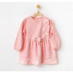 Kız Bebek Elbise 21138 ~ Pembe