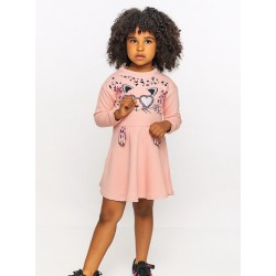 Kız Çocuk Elbise -Pembe...