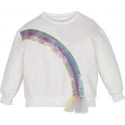 - Mamino Gökkuşağı Payetli Sweatshirt-12395 1