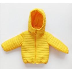 Erkek Bebek Mont 3379 ~ Sarı