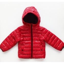 Unisex Kışlık Mont -Kırmızı...