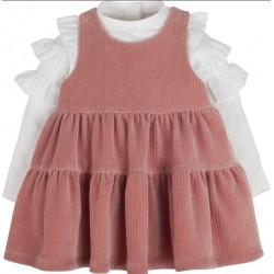 Kız Bebek Elbise 14912 ~ Pembe