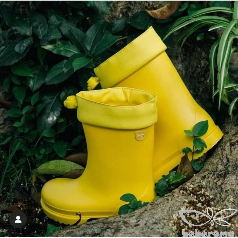 - İgor Unisex Sarı Çizme-W10100